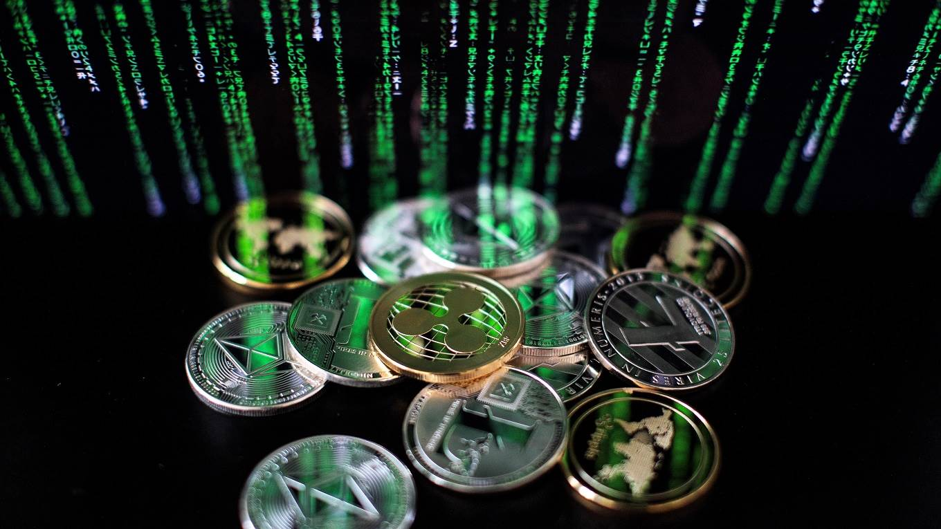 Litecoin, ripple and ethereum cryptocurrency 'altcoins'