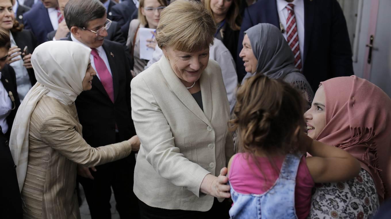 Merkel refugees