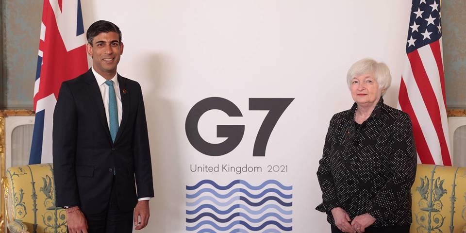 Налоговое ограничение G7 и конец гиперглобализации