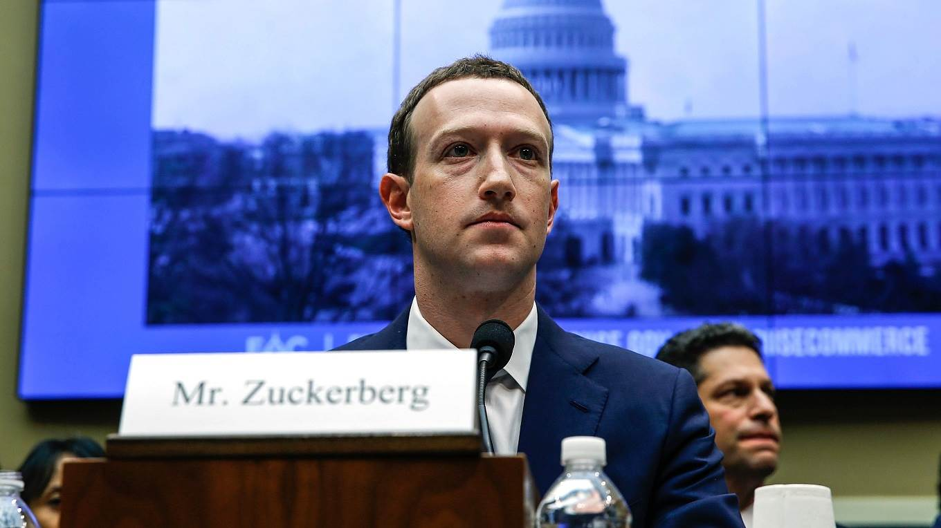 Facebook CEO Mark Zuckerberg testifies before the House Energy and Commerce Committee