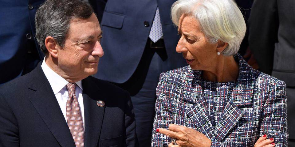 elerian117_ALBERTO PIZZOLIAFPGetty Images_draghi lagarde