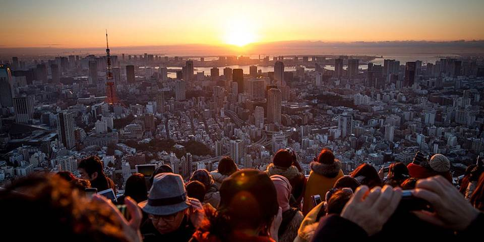 japan sunrise