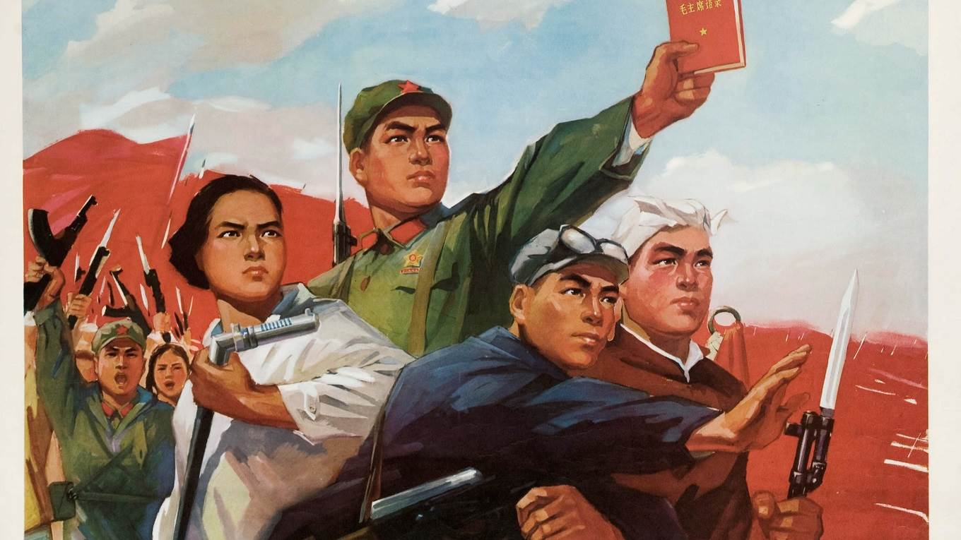 Propaganda poster for the Chinese People's Liberation Army