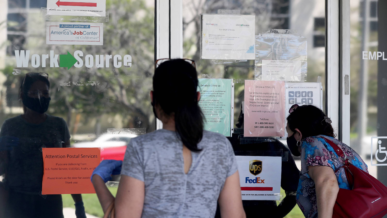 op_lhatheway2_Brian van der Brug  Los Angeles Times via Getty Images_unemploymentjobscoronavirusUS