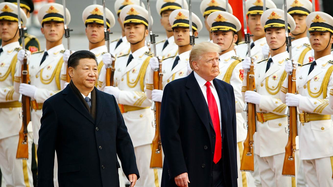 Trump visits China
