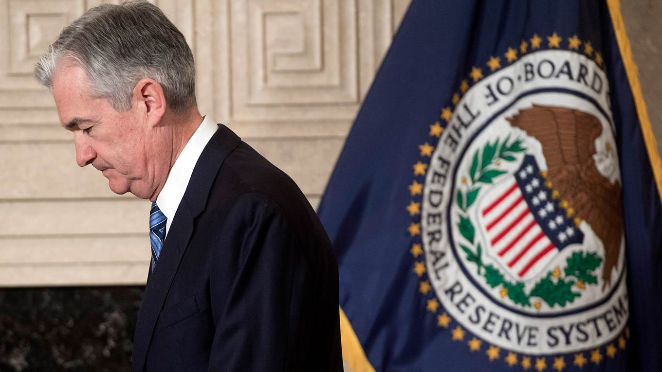 Jerome Powell is sworn-in as the new Chairman of the Federal Reserve