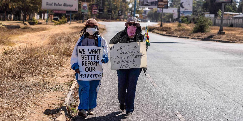 Zimbabwe's Outlaw Regime   by Tawanda Mutasah - Project Syndicate