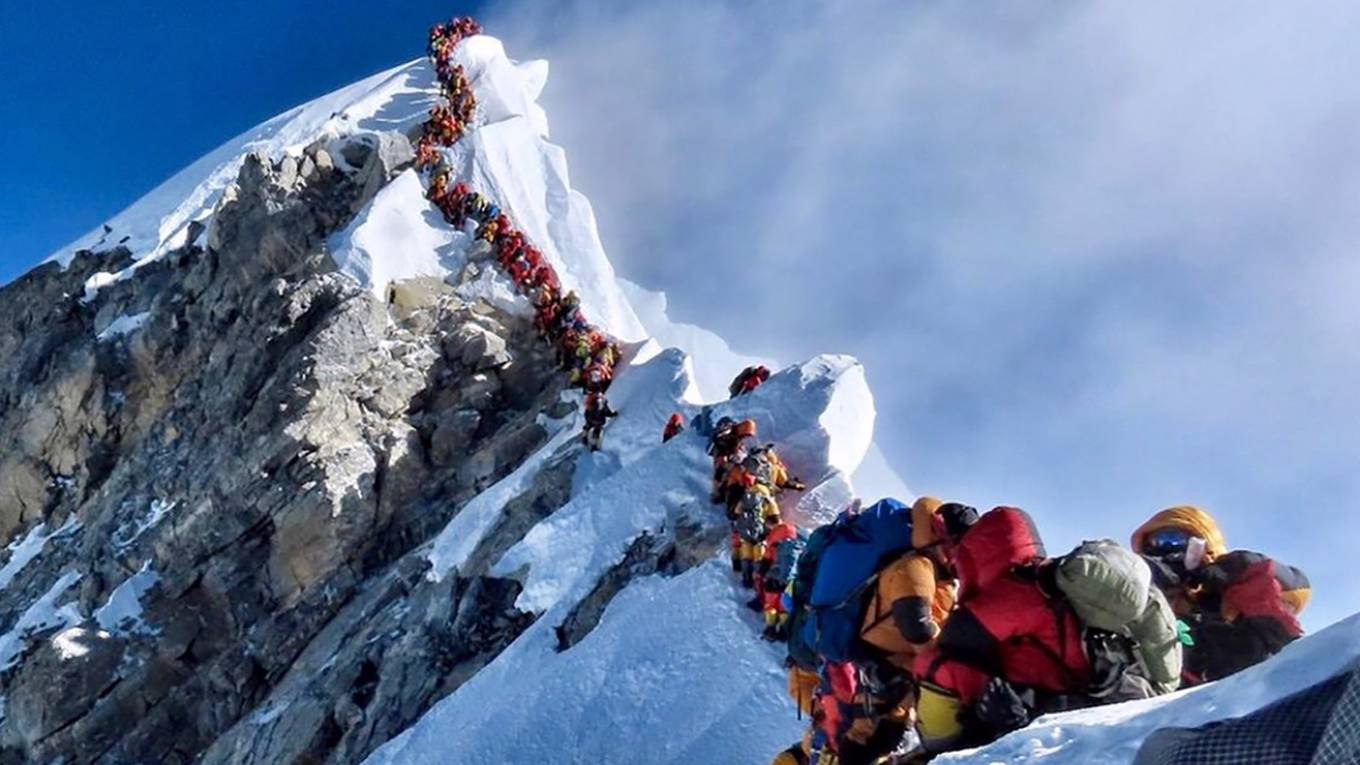 Why Climb Mount Everest? | by Peter Singer