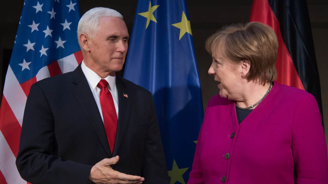 pence merkel munich security conference