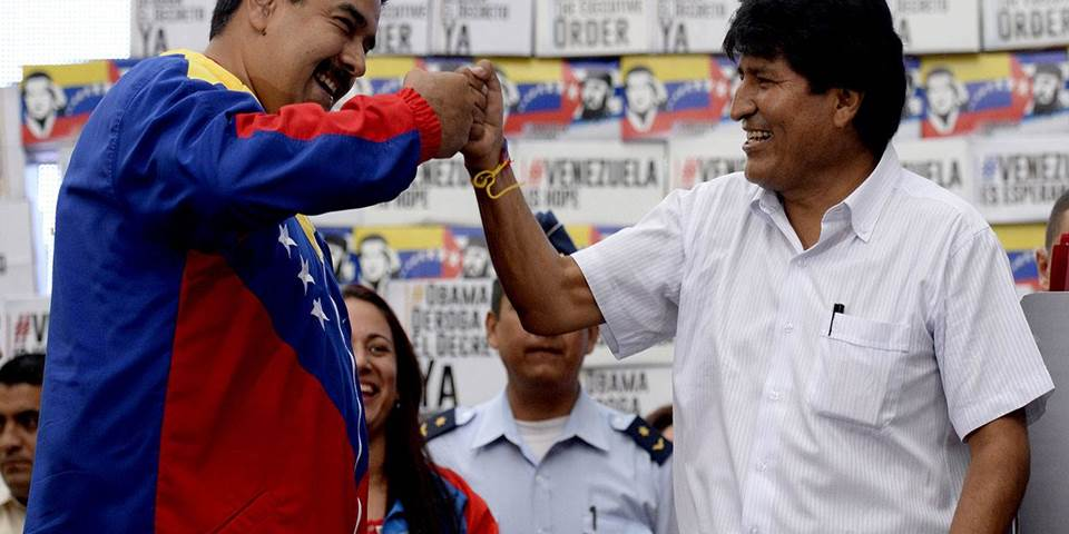 Nicholas Maduro Evo Morales