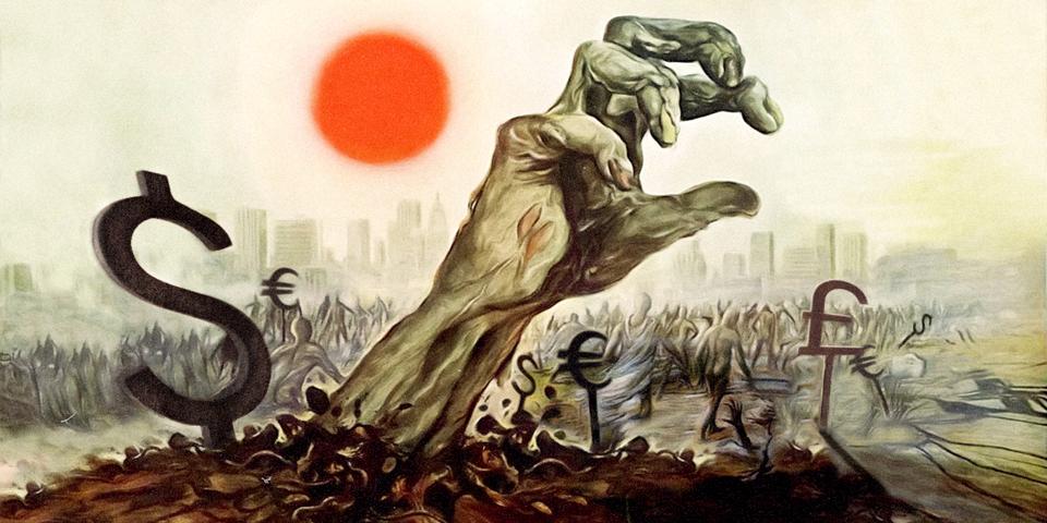 Атака зомби COVID