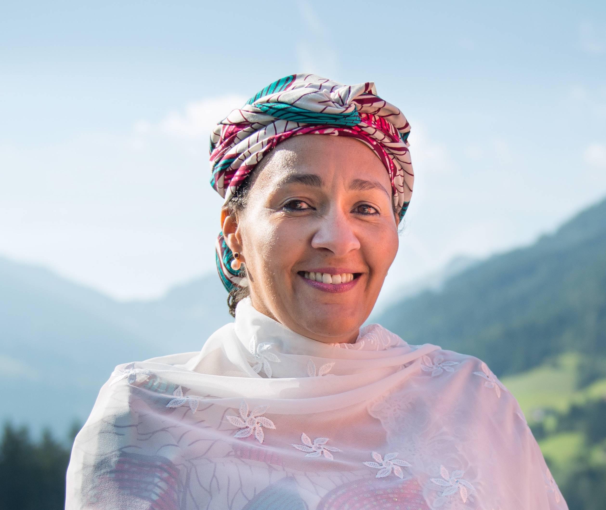 Photo of Amina J. Mohammed