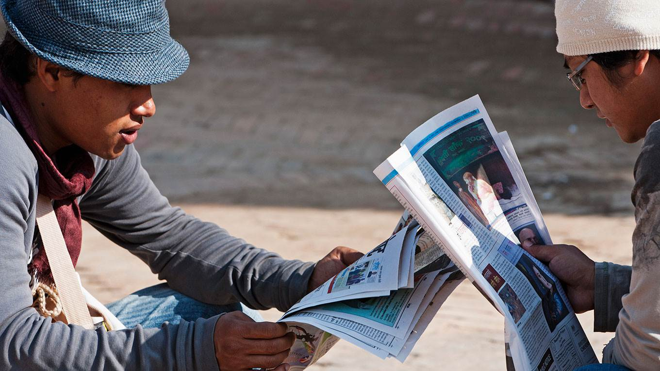 The Return of the Newspaper by Bajinder Pal Singh - Project Syndicate
