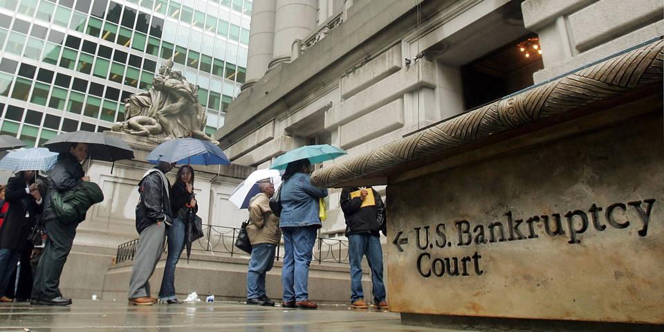 Планирование американской эпидемии банкротства