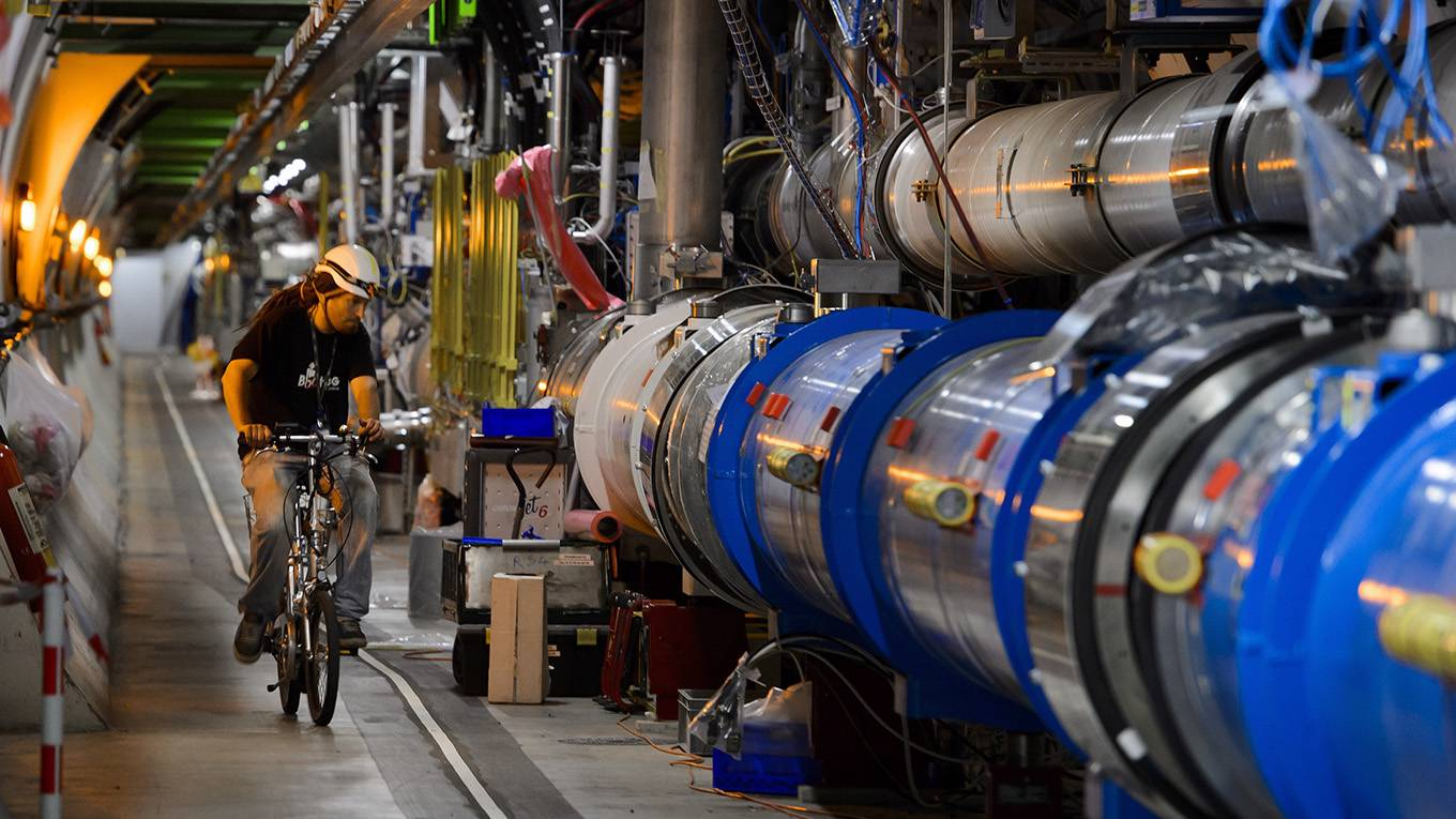We Don't Need a Bigger Particle Collider