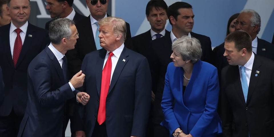 trump eu leaders nato