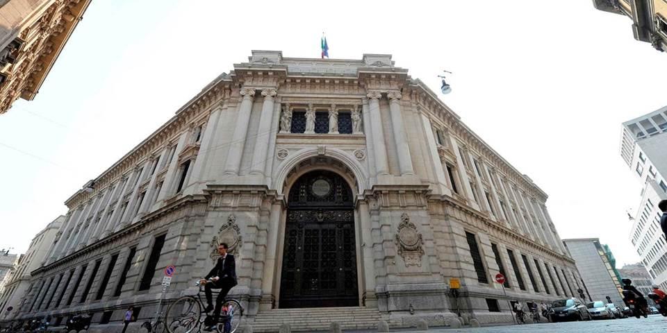 Banca D'italia in Milan
