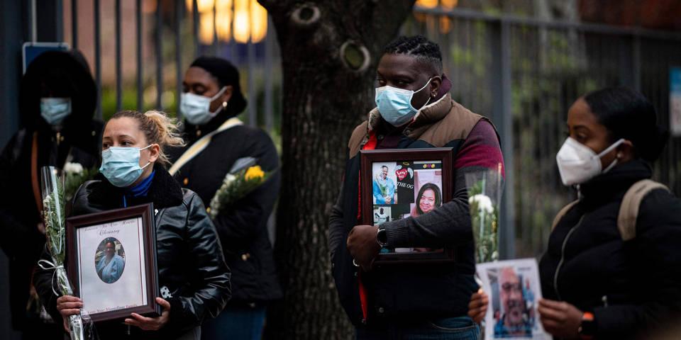 haseltine2_JOHANNES EISELEAFP via Getty Images_coronavirusUSnursememorial