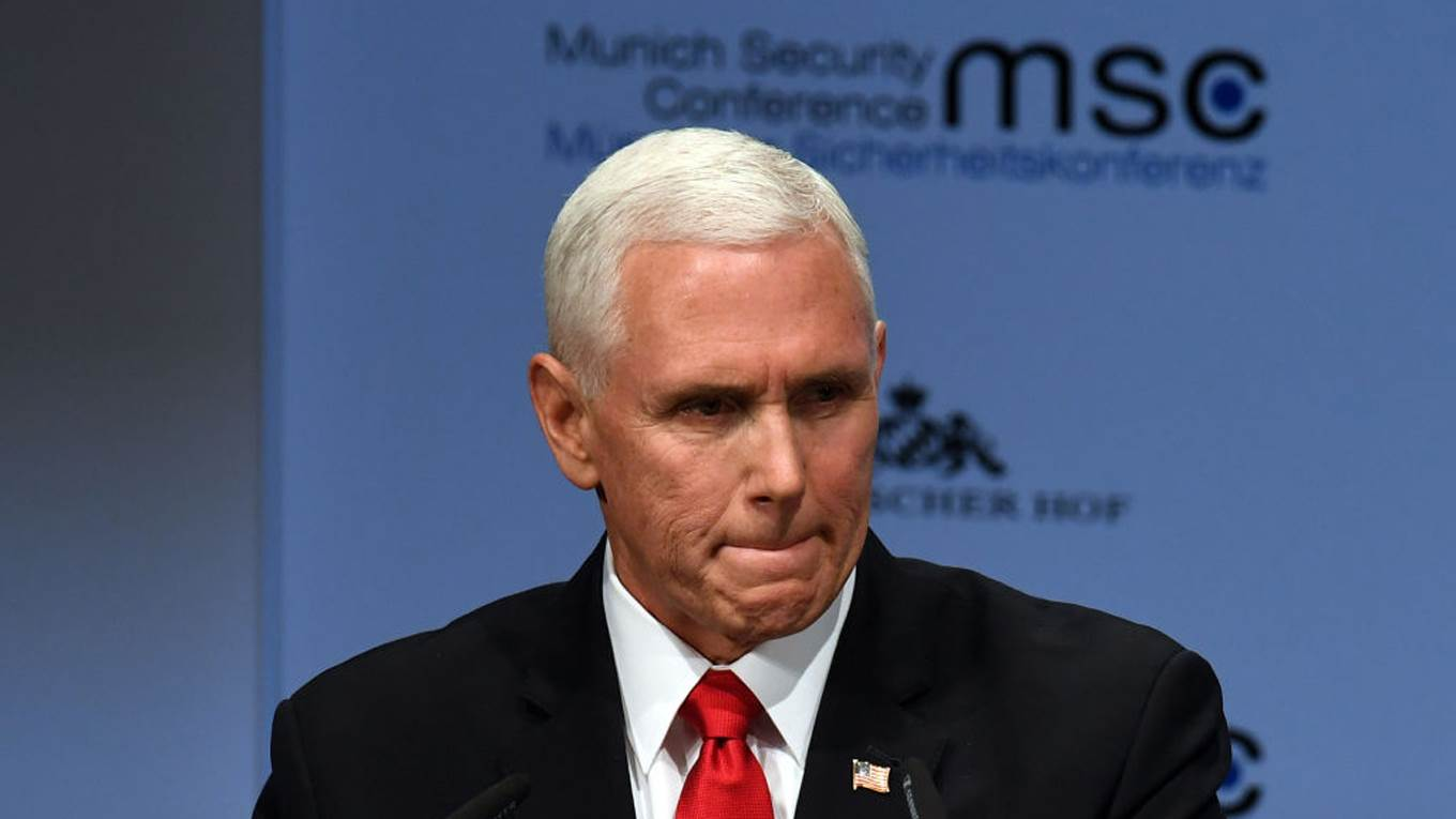 mike pence munich security conference