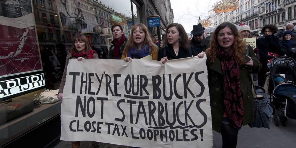 stiglitz263_In Pictures Ltd.Corbis via Getty Images_womenproteststarbucks
