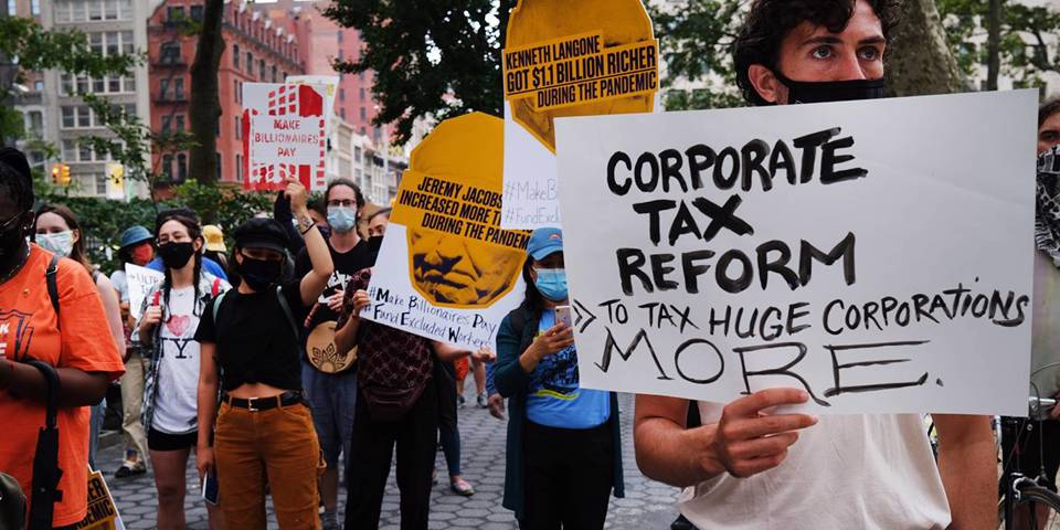 Глобальная налоговая сделка для богатых, а не для бедных