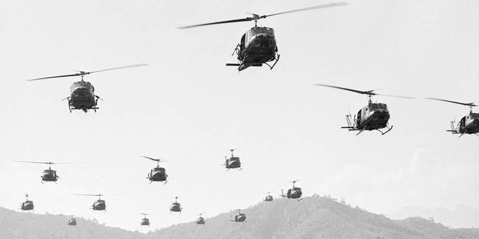 Вертолеты идут