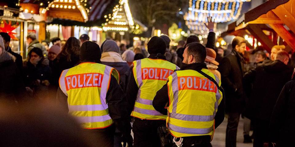 skidelsky147_Christoph Soederpicture alliance via Getty Images_policechristmasmarketgermany