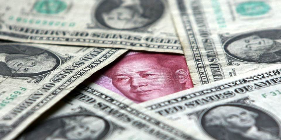 us dollars and yuan