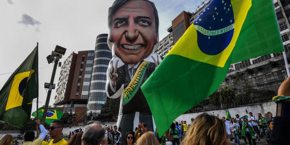bolsonaro rally brazil  elections