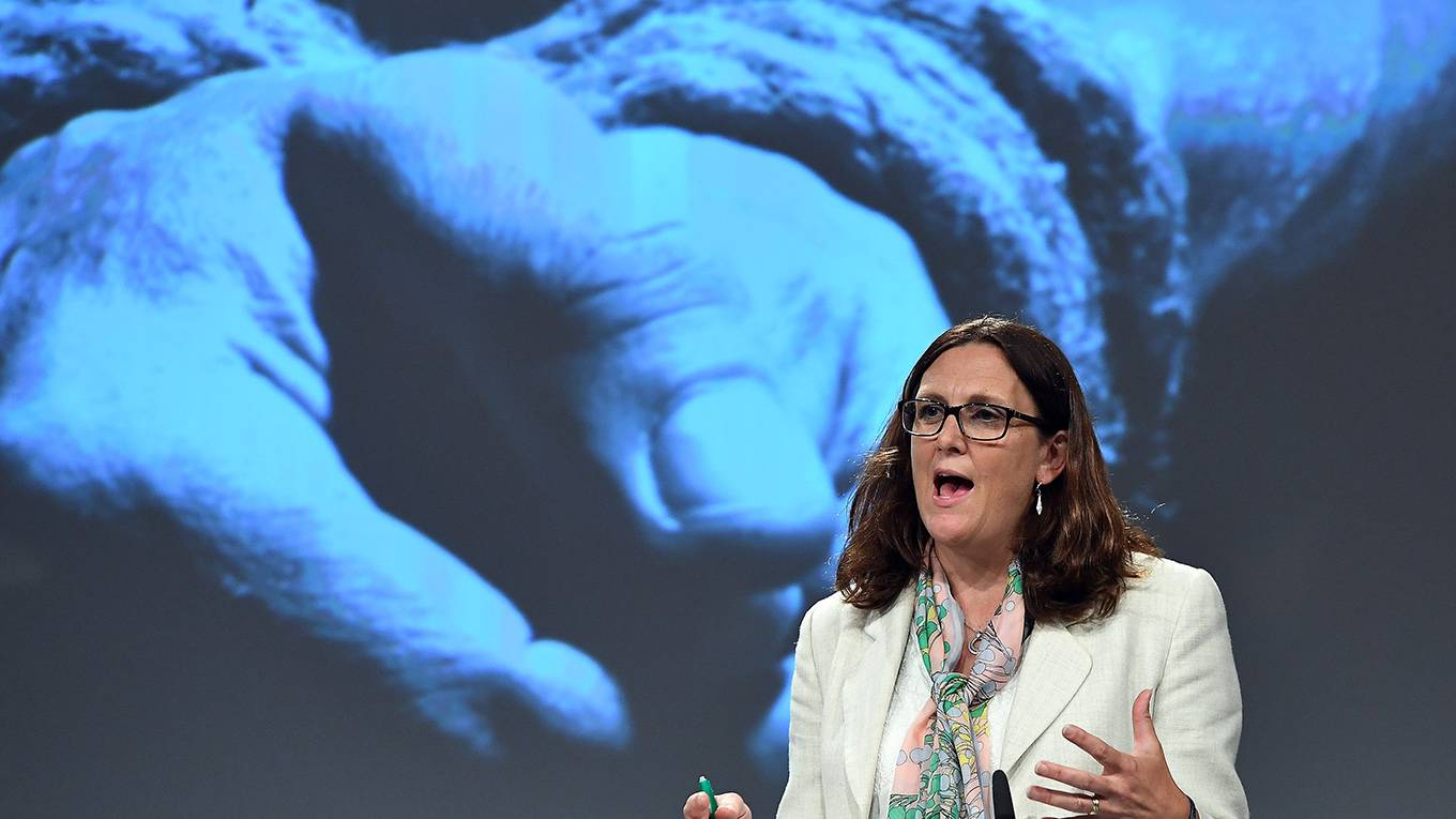 Ending Trade in the Tools of Torture | by Cecilia Malmström