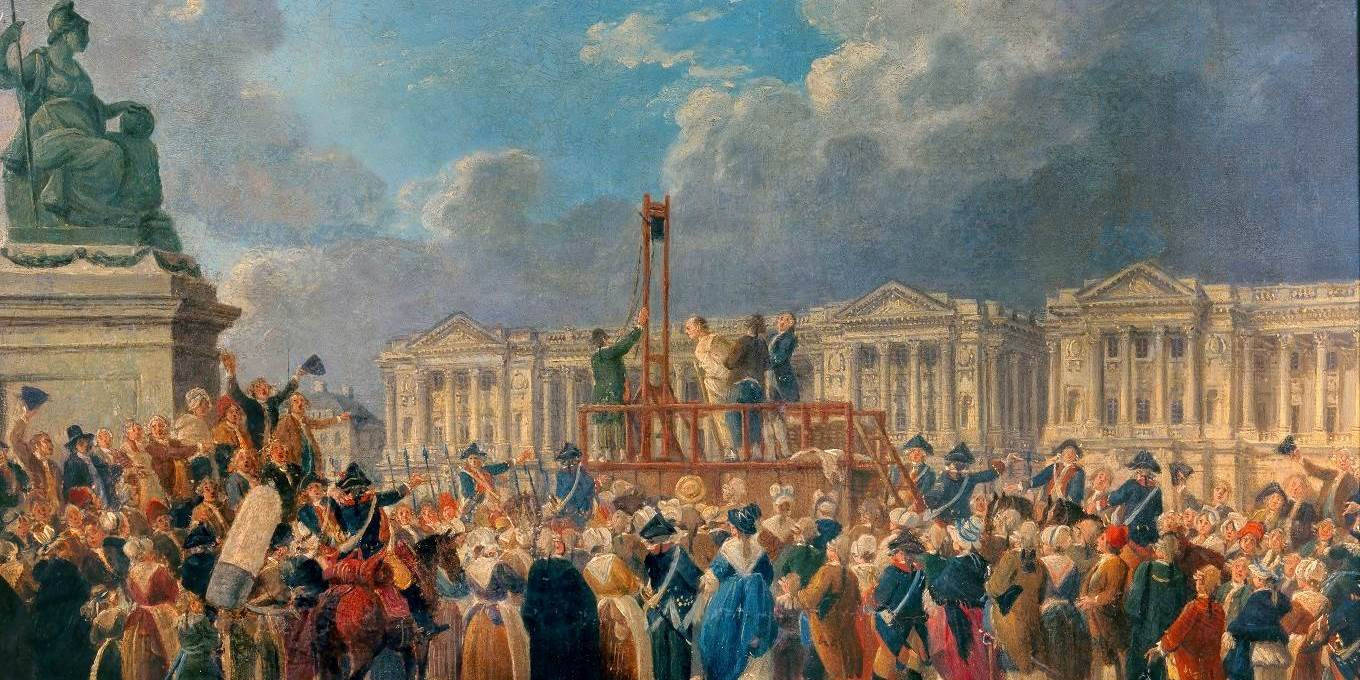 An Execution, Place de la Revolution