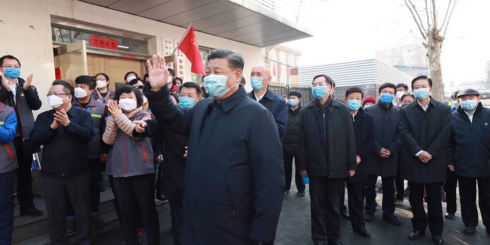 pei60_Pang XingleiXinhua via Getty Images_xijinpingchinacommunistpartycoronavirus