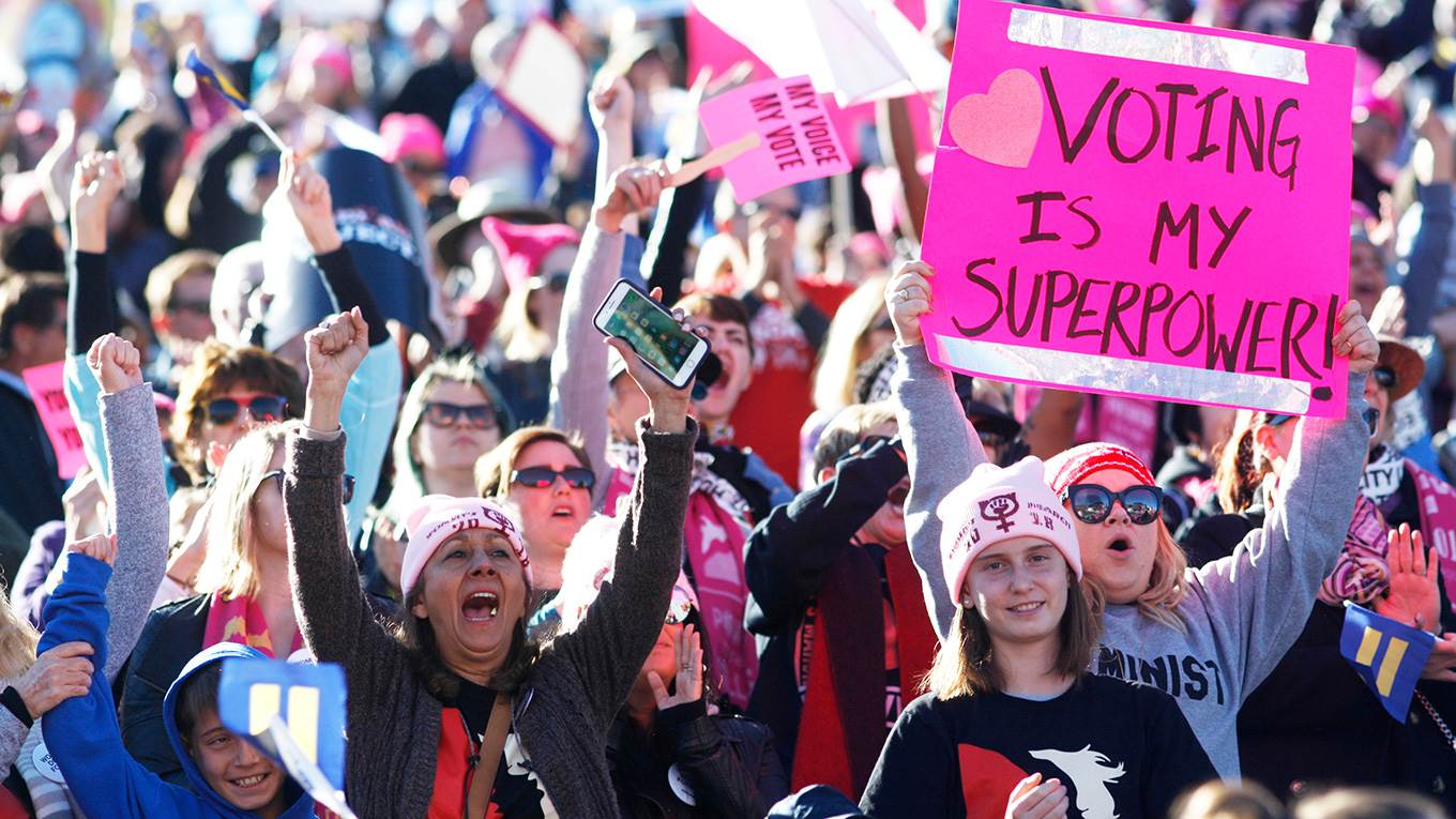 The Women's March 'Power to the Polls'