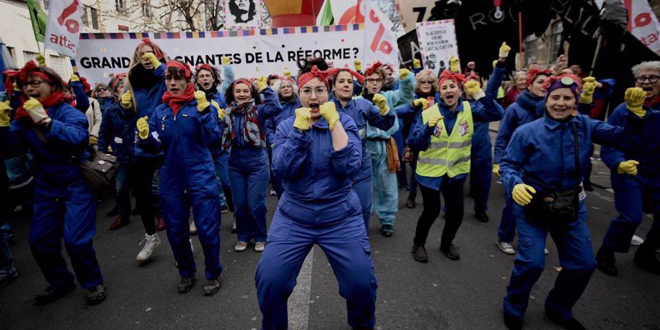 hadaslebel18_LIONEL BONAVENTUREAFP via Getty Images_french protest women