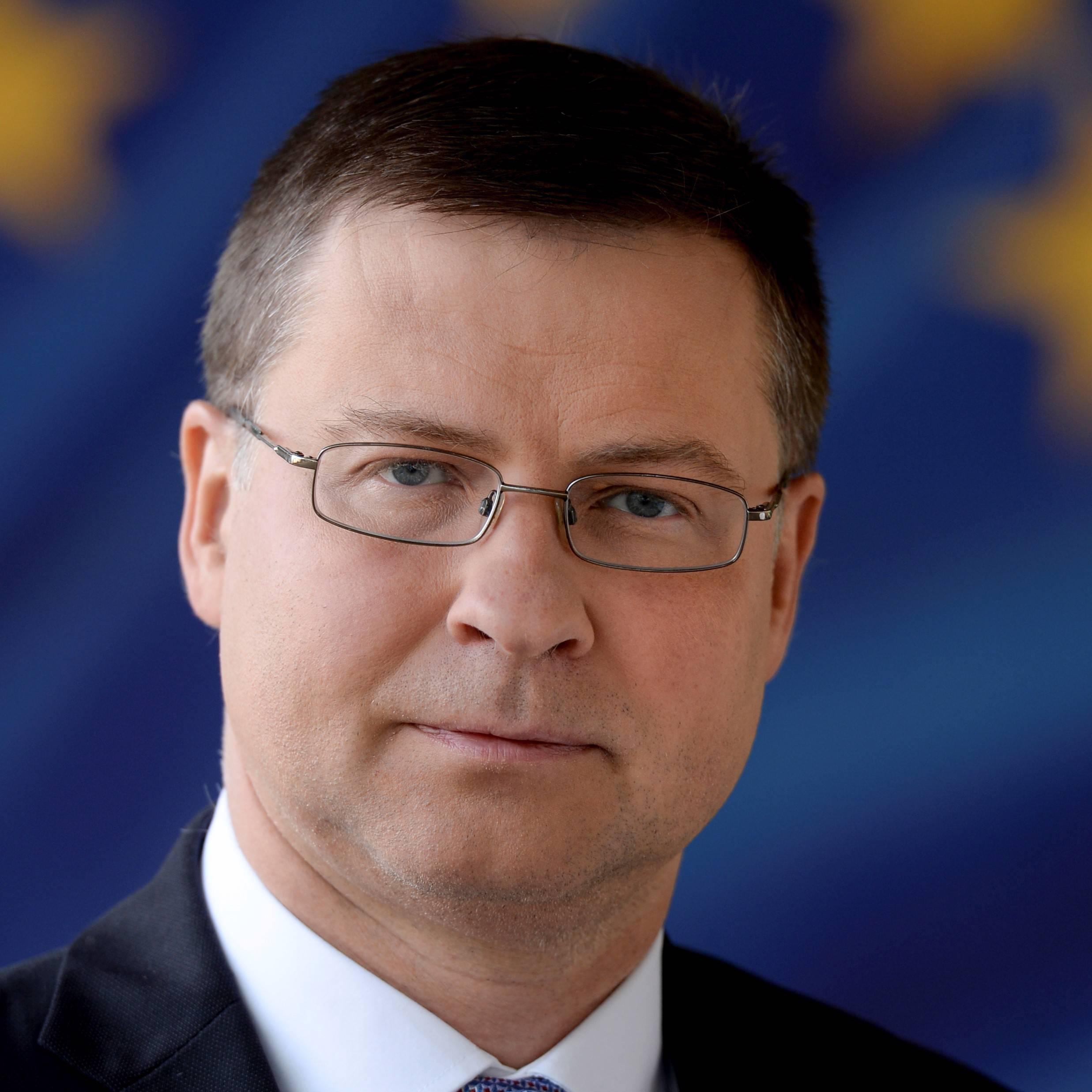 Photo of Valdis Dombrovskis