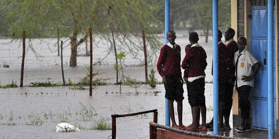 kenya flooding school