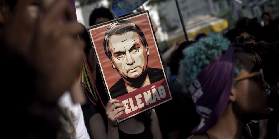 jair bolsonaro protest